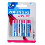 GRUNDIG baterije AA LR6 1.5V 2100mAh 4kom