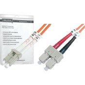 Digitus Opticki prespojni kabel [1x LC-utikac - 1x SC-utikac] 62,5/125µ multimode OM1 1 m Digitus