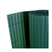VIDAXL dvostruka vrtna ograda od PVC 90 x 300 cm  12 mm 141081 zelena