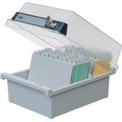 HAN Kutija za kartoteke, A6, plastika, na zaključavanje
