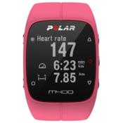 POLAR športna ura M400 (z merilcem srčnega utripa), roza