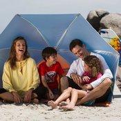 Sklonište za plažu IWIKO 180 plavo/zeleno