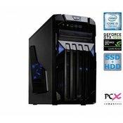 Namizni računalnik PCX EXAM GAMING 2.2 (i5-7400/8GB/SSD240+1TB/nv1050-4GB) (PCX EXAM GAMING 2.2)
