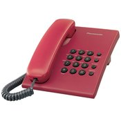 PANASONIC telefon KXTS500FXR CRVENI