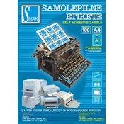 SAMOLEPILNE ETIKETE, FORMAT 105 X 99 MM PA-S-80