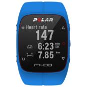 POLAR športna ura M400 (z merilcem srčnega utripa), modra
