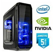 Računalo INSTAR Gamer Venom Elite, Intel Core i7-7700 up to 4.2GHz, 8GB DDR4, 1TB HDD, NVIDIA GeForce GTX1060 3GB GDDR5, DVD-RW, 5 god jamstvo