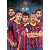 Barcelona kalendar 2014