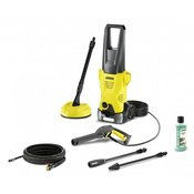 KÄRCHER visokotlačni čistilnik K 2 Premium Home + komplet za čiščenje cevi