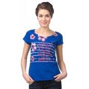 Desigual ženska majica, temno modra