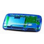 USB 2.0 Externi CF,MD,SM,MS,SD,MMC,XD card R/W, GEMBIRD FD2-ALLIN1