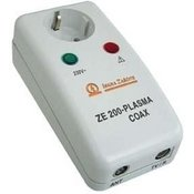 ISKRA MULTIMEDIJSKI adapter S PRENAPETOSTNO ZAŠČITO ZAŠČITE ZE 200 - plasma COAX