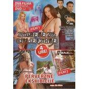 erotični film DVD: ZAGRETE ZA DIVJE FANTE + PERVERZNE EKSIBICIJE