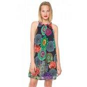 DESIGUAL ženska obleka, večbarvna