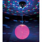 LED disko kugla sa zrcalima smotorom 20 cm