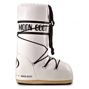 MOON BOOT čizme MOON BOOT VINIL WHITE-BLACK