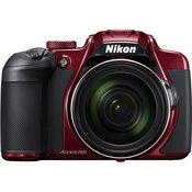 NIKON digitalni fotoaparat Coolpix B700, crvena