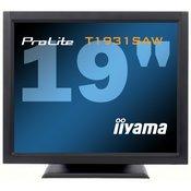 iiyama iiYama ProLite T1931SR-B1 19' LED LCD Resistive Touchscreen 1280 x 1024 speakers VGA DVI 200cd/mÂ2 900:1 5ms RS232 & USB int. PSU VESA 100 (T1931SR-B1)