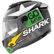 SHARK motoristična čelada Speed-R Carbon Redding Go&Fun