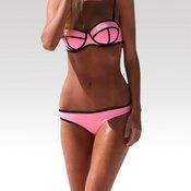 Wayfarer ženski neopren kupaći kostim Triangle donji dio roza S