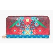 DESIGUAL ženska denarnica Zip Around Kaitlin, večbarvna