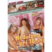 erotični film DVD: NEDOLŽNA PRI 18-IH