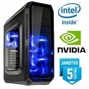 Računalo INSTAR Gamer Alpha Xplode, Intel Core i7-7700 up to 4.2GHz, 8GB DDR4, 1TB HDD, NVIDIA GeForce GTX1060 6GB DDR5, DVD-RW, 5 god jamstvo