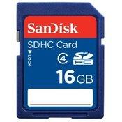 SANDISK memorijska kartica SDHC 16GB SDSDB-016G-B35