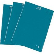 Hama Hama Blu-ray Plastični omotači, plavi, 3 komada