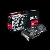 ASUS grafična kartica Dual series Radeon RX 580 OC 8GB GDDR5 (DUAL-RX580-O8G)