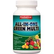 PHARMEKAL vitamini ALL-IN-ONE Green multi-vitamin, 120 tablet