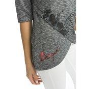 Desigual Olivia T-shirt 17WWTKE9 Siva