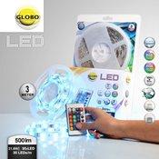 Led_Band LED traka Globo LED traka, daljinski upravljac, jacina svjetlosti i boje koje se mogu podešavati [ GLOBO 38991 ]