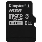 KINGSTON memorijska kartica SDC10G2 16GB + adapter