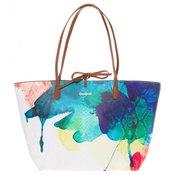 DESIGUAL ženska ročna torbica Capri Aquarelle, večbarvna