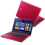 Acer - E5-411-C4S0 Intel QUAD CORE N2940.14 HD/4GB/500GB/Intel HD/DVD-RW/Linux/Red