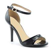 Sandale na štiklu LS31409 crne