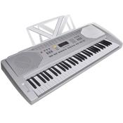 vidaXL Električna klavijatura s držačem za note, 61 tipka