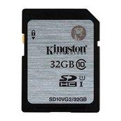 SD card Kingston32 GB SDHC Class10 SD10VG2/32GB