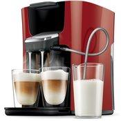 PHILIPS SENSEO kavni avtomat Latte Duo HD7855/80, rdeč