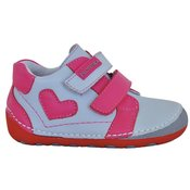 Protetika dívcí kotníkové barefoot boty Pony 21 siva ce00ccea3a