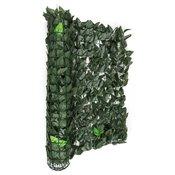 Blumfeldt FENCY BRIGHT Leaf, tamnozelena, zaštitna ograda, privatnost i zaštita od vjetra, 300 x 100 cm