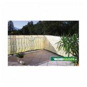 Windhager balkonska ograda Ibiza 0,9x5 m, rumeno-bela, tkanina (06147)