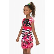 Desigual dekliška obleka Annapolis 116 večbarvna