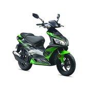 TAURIS skuter Estoril 50 2T črn/zelen 25km/h