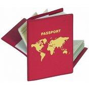 HERMA RFID ovitek zaščita za potni list (1 ovitek z 2 notranjema žepoma)