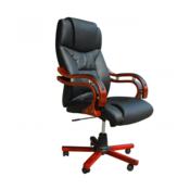 VIDAXL uredska stolica 64 x 68 x 108-117 crno crvena