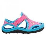 NIKE otroški sandali td SUNRAY PROTECT (TD), (344993-612), roza-modri