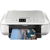 Canon PIXMA MG5750 schwarz/silber (Tintenstrahldrucker, Scanner, Kopierer) mit WLAN