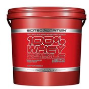 SCITEC NUTRITION proteini 100% Whey Protein Professional Lightly Sweetened, 5kg